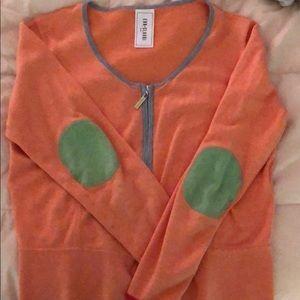 Women's zip up sweater